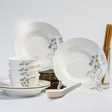 景德镇陶瓷# 爱爵 陶瓷餐具套装 16件 39元包邮(79-40券)