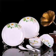 景德镇陶瓷# 君鑫 欧式餐具套装 6件 15.9元包邮(30.9-15券)