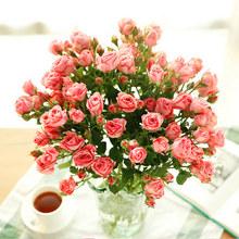 全国送花# 爱尚 多头小玫瑰鲜花礼盒 约15朵 29.9元包邮(49.9-20券)