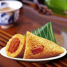 三全 鲜肉粽豆沙蜜枣粽子 100g*9只 24.9元包邮(34.9-15券)
