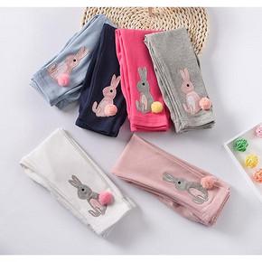 多款可选# 百丽维尼 印花卡通纯棉弹力长裤 折8.9元(17.8,2件9折)