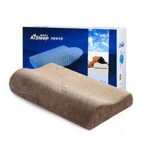 AiSleep 睡眠博士 B型慢回弹人体工学枕+送枕套 49元包邮(99-50券)