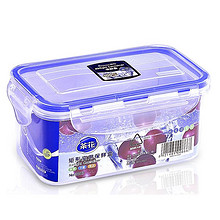 茶花 塑料长方形密封盒 8.9元包邮(11.9-3券)