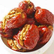 双重美味享受# 海思漫 新疆红枣夹核桃 500g 17.9元包邮(22.9-5券)
