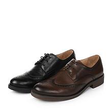 商务英伦风# 天美意 男士布洛克皮鞋 278元包邮(328-50券)
