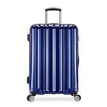 旅行装备# 宾豪 防刮PC万向轮拉杆箱 20寸 199元包邮(349-150券)