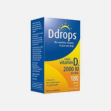 Ddrops 成人维生素D3 2000IU 5ml*3件 155.7元(225.7-100+30)