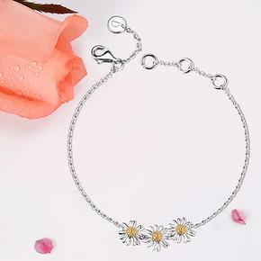 DAISY WELLBEING 雏菊系列18K镀金手链 639元包邮(669-30)