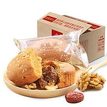 甜而不腻# 枣粮先生 红枣核桃蛋糕 1000g 24.9元包邮(29.9-5券)
