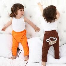 多款可选# 哆啦哈蕾 婴儿大PP裤纯棉长裤 9.9元包邮(19.9-10券)