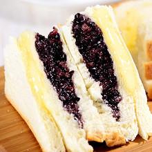 网红早餐# 纽尔多 紫米奶酪面包 8包 15.8元包邮(18.8-3券)