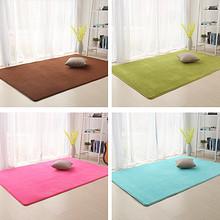 耐磨耐脏# 华秀地毯 珊瑚绒客厅地毯 0.4*1.2m 6.8元包邮(9.8-3券)