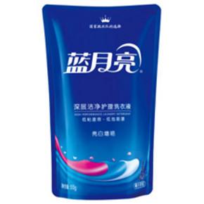 蓝月亮 亮白增艳洗衣液 500g 折4.5元(3件5折)