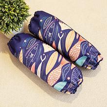 时尚可爱# 九十九分围裙 韩式长款袖套 2.8元包邮(5.8-3券)