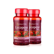 健康型男# 自然之宝 番茄红素软胶囊 100粒*2瓶 100.8元包邮(99-10券+11.8)