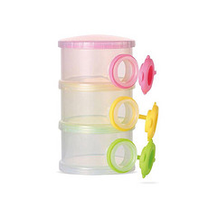 泡泡龙 外出便携大容量密封奶粉格子 9.8元包邮(14.8-5券)