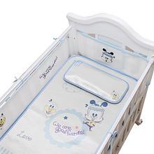 宝贝睡吧# 巴布豆 婴儿冰丝凉席+枕头两件套 140*70cm 39元包邮(79-40券)