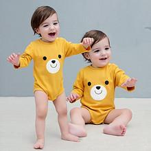 多款可选# 小猪诺可 婴儿加厚连体衣 14.8元包邮(24.8-10券)
