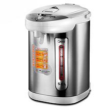 美的 家用保温不锈钢电热水壶 5L 159元(199-40券)