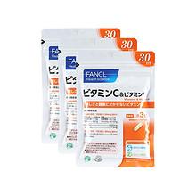 美容养颜# FANCL芳珂 维生素C胶囊 90粒*3件 175.8元(216-60+19.8)