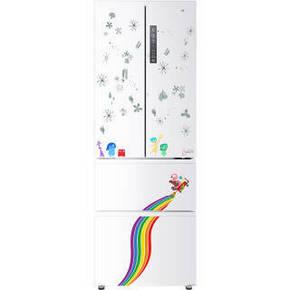 大差价# 海尔 BCD-312WDHA(DZ) 312L 风冷多门冰箱 2299元包邮(双重优惠)