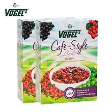 前10分钟# vogels 沃格尔 水果果仁营养麦片 400g*4盒 158返79元