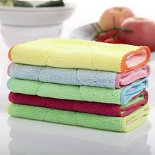 纤维去油# 汉世刘家 竹纤维加厚洗碗巾抹布 10条 16.8元包邮(19.8-3券)