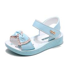 可爱美丽# 哈比熊 夏季真皮儿童凉鞋 39元包邮(69-30券)