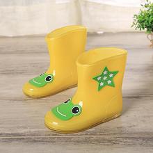 轻便舒适# 雨悦 儿童防滑雨靴 9.8元包邮(19.8-10券)