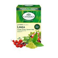 变身小蛮腰# 安杰丽卡 纤形脂流可溶养生绿茶 20包 19元包邮(49-30券)