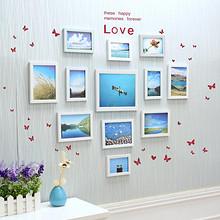 景宇 室内照片墙装饰相框 12件套 29元包邮(49-20券)