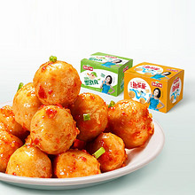 湖南特产# 渔米之湘 香辣鱼蛋蛋 40包 19.6元包邮(39.6-20券)