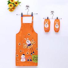 支持定制# 宝宝和阿路 儿童防水围裙+袖套 16元包邮(19-3券)