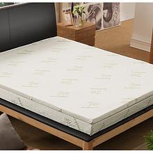 送记忆枕# 可奈尔 竹炭海绵记忆床垫 90*190cm 159元包邮(359-200券)