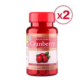HOLLAND & BARRETT 浓缩蔓越莓精华胶囊 100粒*2瓶 106元包邮