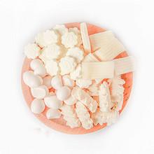 内蒙古特产# 双牛 奶制品组合套餐 4袋共608g 18.9元包邮(48.9-30券)