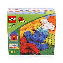 培养创造力# LEGO 乐高 得宝系列 80粒 159元包邮(159+16.9-16.9券)
