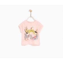 ZARA 儿童可爱印花T恤印花T恤 39元包邮