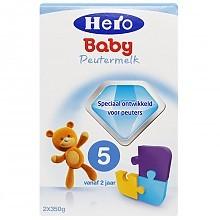 均衡营养# Hero Baby 5段婴儿配方奶粉 700g  83.9元(69元+6+8.93)