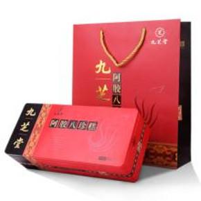 百年品牌# 九芝堂 阿胶八珍糕礼盒装 180g 39元包邮(189-150券)