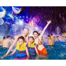 五一去哪玩# 广州长隆水上乐园 电音节夜场 成人票 90元(140-50)