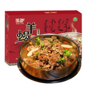 限地区# 蒙都 原味羊蝎子熟食 1.2kg 折32.8元(161-30券)