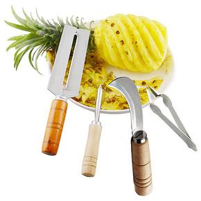 居家必备# 不锈钢水果刀具4件套 14.9元包邮(19.9-5券)