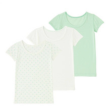 优衣库 194080 婴儿网眼短袖T恤 3件装     59元包邮