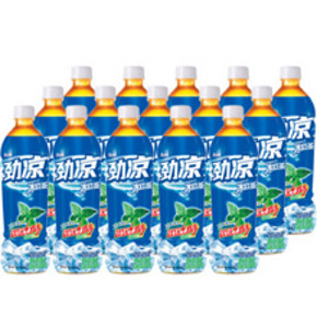 康师傅 劲凉冰红 550ml*15瓶 整箱     24.9元