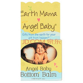 Earth Mama Angel Baby 天然宝宝护臀膏 60ml 折47元(89,199-100)
