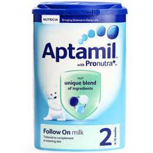 爱他美(Aptamil) 婴儿奶粉 2段 900g(英国版) 99元