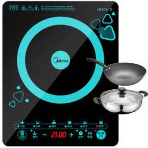 美的 整板触控电磁炉 179元包邮(209-30券)