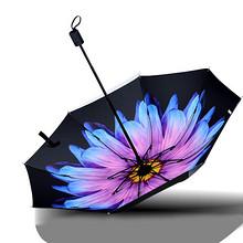 0透光# 黑胶防晒双人折叠晴雨两用伞 17.9元包邮(21.9-4券)