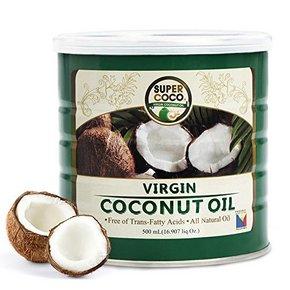 不含胆固醇# SUPERCOCO 椰来香椰子油500ml 79元